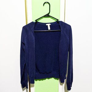 Forever 21 navy cardigan